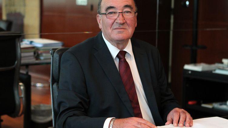 Le sénateur de Haute-Corse, Joseph Castelli, à Bastia, le 25 septembre 2014. (PASCAL POCHARD-CASABIANCA / AFP)