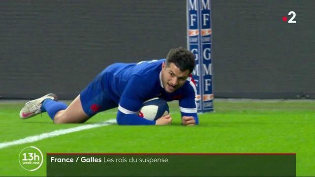 Rugby : la France bat le Pays de Galles dans un match à suspens