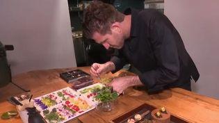 """Alexandre Mazzia, désigné """"cuisinier de l'année"""" par le Gault & Millau (France 2)"""