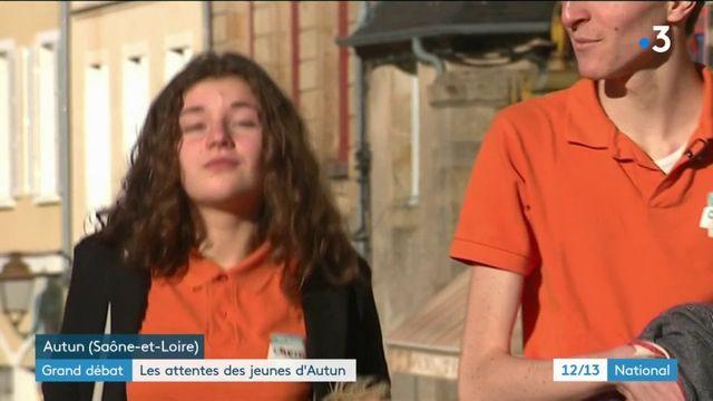 Grand débat national : ce qu'attendent les jeunes d'Emmanuel Macron