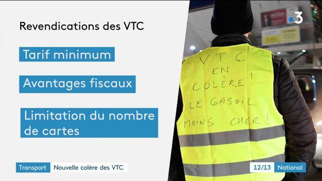 Transport : deuxième jour de mobilisation des chauffeurs VTC