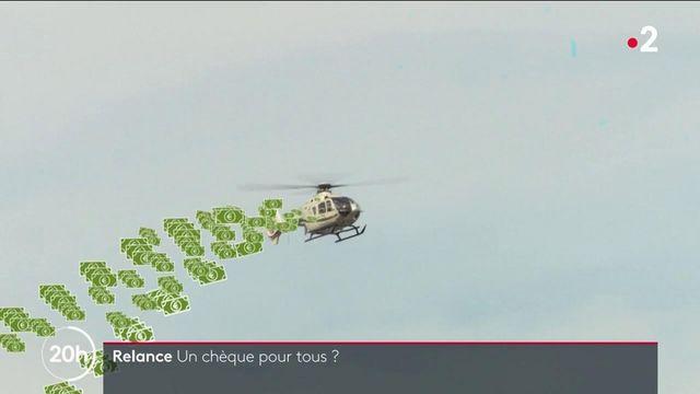 """""""Monnaie hélicoptère"""" : un chèque à tous les Français pour stimuler la demande en temps de crise ?"""