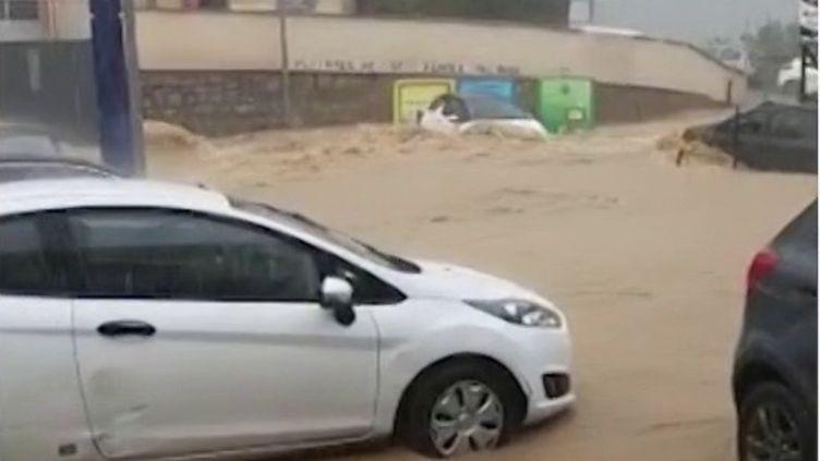 Corse : Ajaccio inondée après un déluge (FRANCE 2)