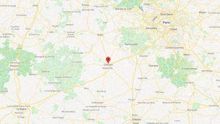 La ville de Chartres, en Eure-et-Loir. (GOOGLE MAPS)