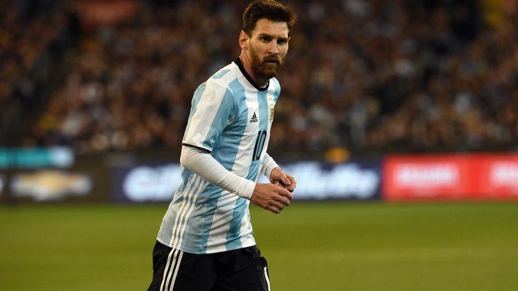 Le joueur argentin Lionel Messi (SAEED KHAN / AFP)