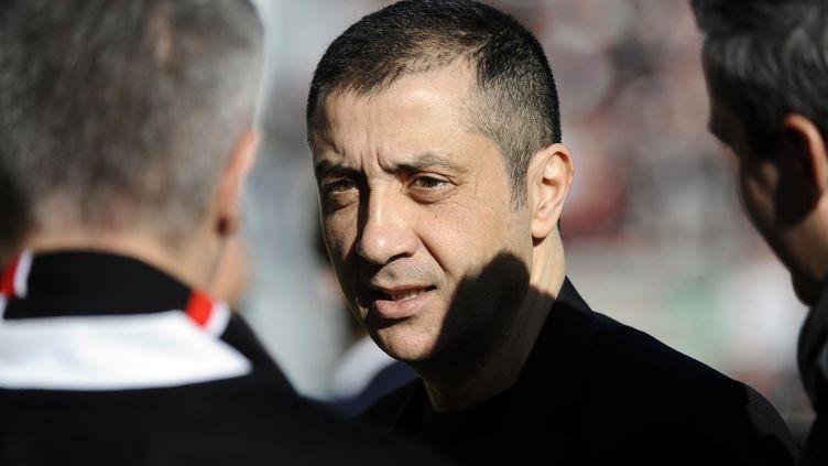 Mourad Boudjellal, le président du RC Toulon (FRANCK PENNANT / AFP)