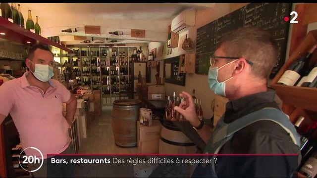Alpes-Maritimes : les policiers veillent au respect du protocole sanitaire dans les restaurants