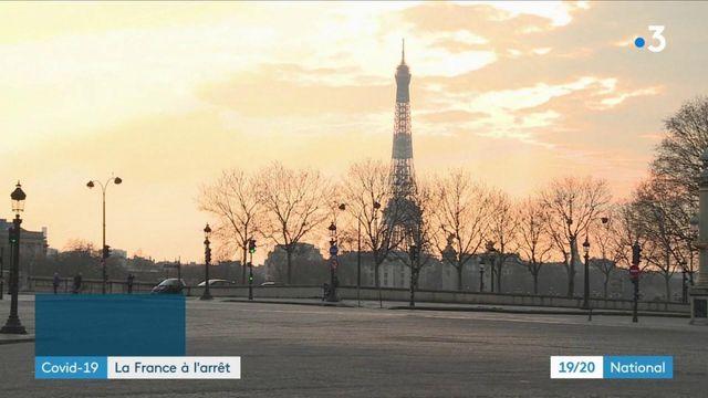 Covid-19 : la France à l'arrêt