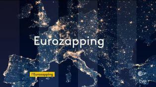 Jeudi 21 mai, comme tous les soirs, franceinfo fait le tour des JT de nos voisins européens. (FRANCEINFO)