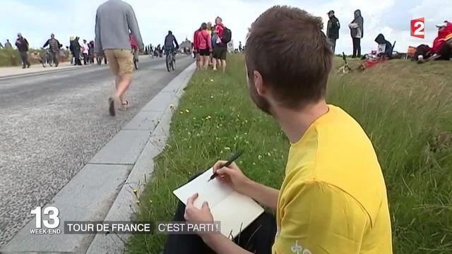 Le grand départ du Tour de France
