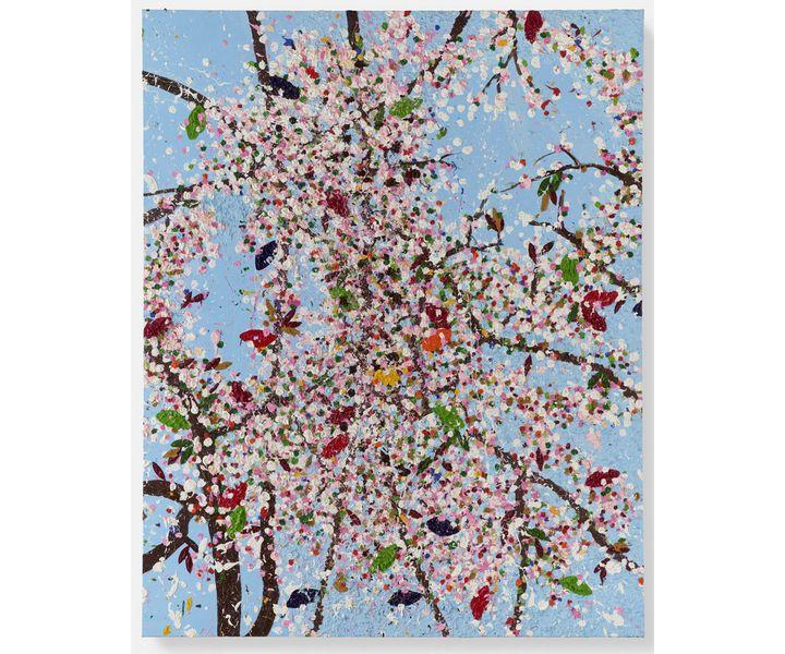 """Damien Hirst, """"Excitement's Blossom"""", 2018, Collection privée (© Damien Hirst and Science Ltd. Tous droits réservés, ADAGP, Paris, 2021. Photo Prudence Cuming Associates)"""