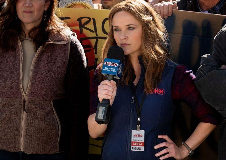 "Reese Witherspoon incarne la reporterBradley Jackson dans la série ""The Morning Show"". (APPLETV+)"