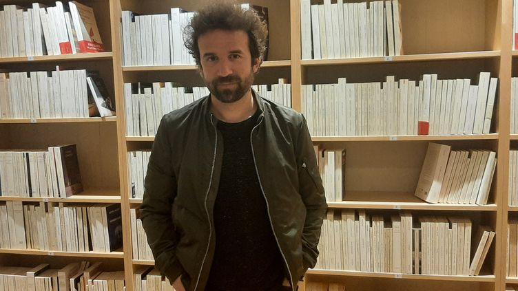 Cyril Dion, militant écologiste et réalisateur. (SEBASTIEN BAER / RADIO FRANCE)