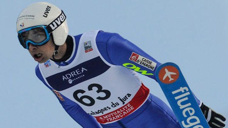 Le skieur français Jason Lamy-Chappuis