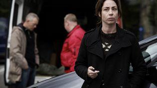Les pulls de Sofie Gråbøl dans le rôle de Sarah Lund sont devenus mythiques au Danemark. (© ZDF/Tine Harden)