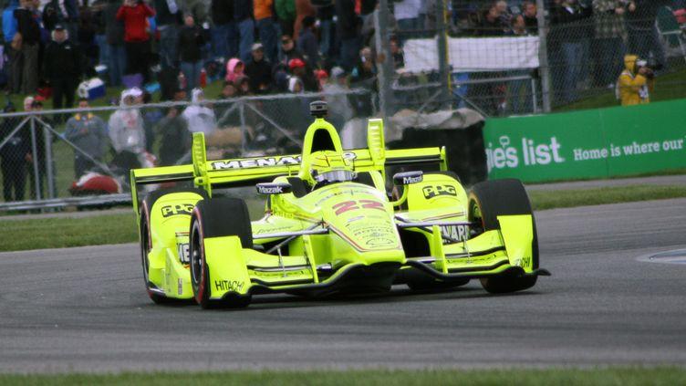 Simon Pagenaud favori des 500 miles d'Indianapolis (AMY FREDERICK / MAXPPP)