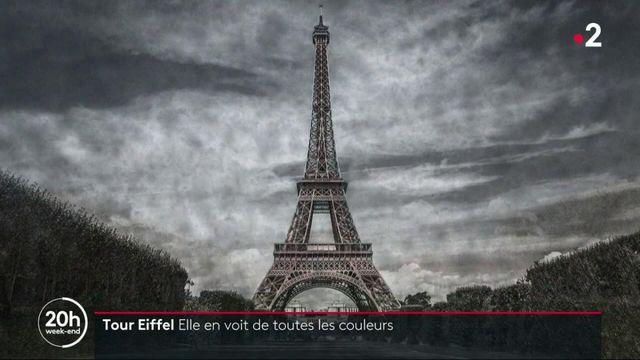 Paris : la tour Eiffel repeinte en doré en vue des Jeux Olympiques
