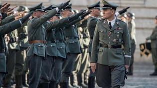 """Jason Clarke incarne """"HHhH"""", Reinhard Heydrich le cerveau d'Himmler qui organisa l'extermination des Juifs sous le régime nazi  (Mars Films)"""