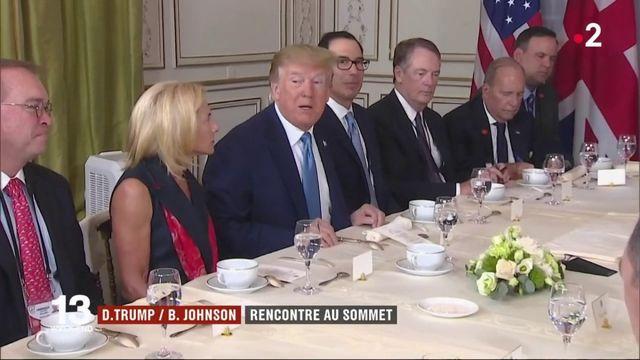 Sommet du G7 : rencontre au sommet entre Johnson et Trump