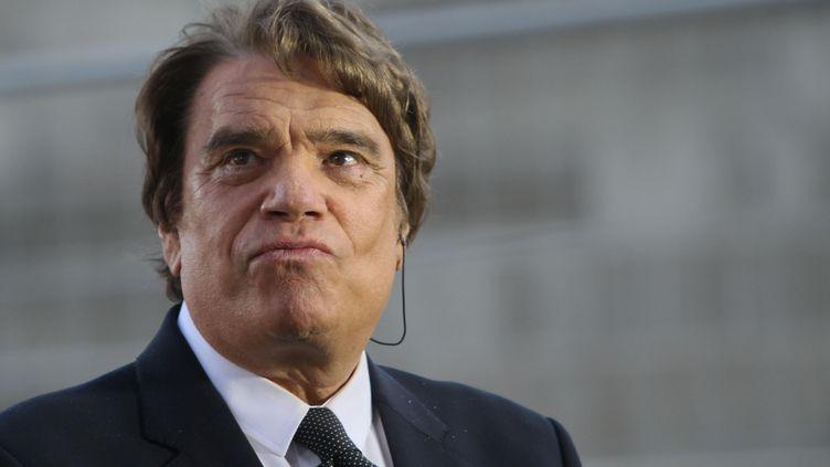 L'homme d'affaires Bernard Tapie, le 26 mai 2013 au stade Vélodrome de Marseille (Bouches-du-Rhône). (KARINE VILLALONGA / SIPA)