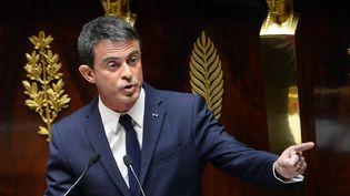 Manuel Valls à l'Assemblée nationale, à Paris, le 18 juin 2015. (BERTRAND GUAY / AFP)