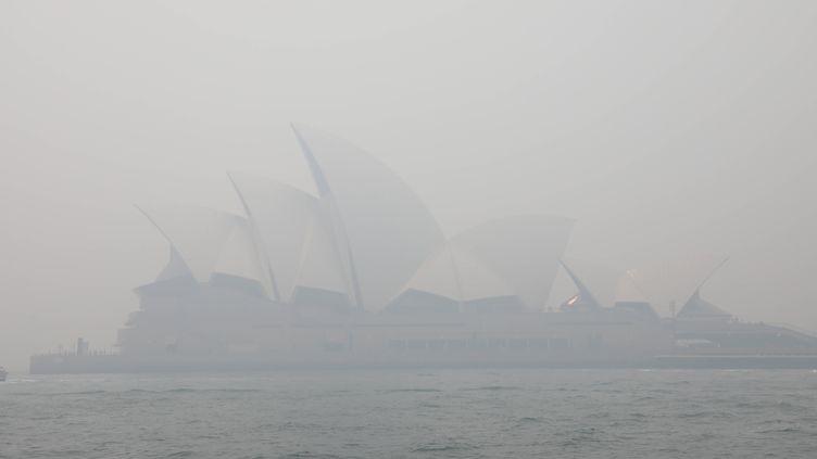 L'opéra de Sydney (Australie), le 10 décembre 2019. (RICHARD MILNES / REX / SIPA)