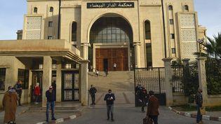 Tribunalde Dar El Baida, Alger, le 4 février 2021. (RYAD KRAMDI / AFP)
