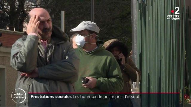 Allocations sociales : la Poste prise d'assaut