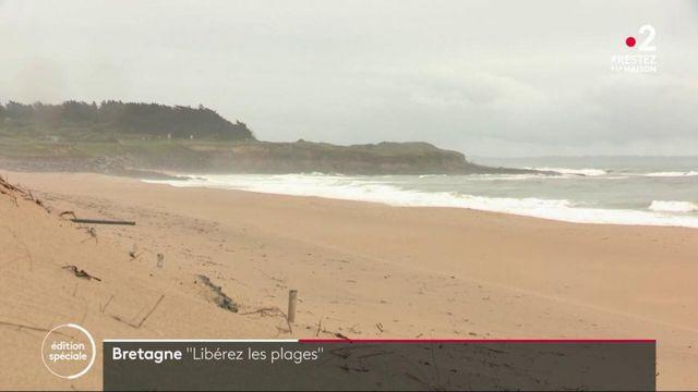 Déconfinement : mobilisation en Bretagne pour la réouverture des plages