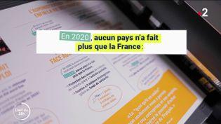 La France est-elle vraiment le pays qui a le plus dépensé face à la crise en 2020 ? (FRANCE 2)
