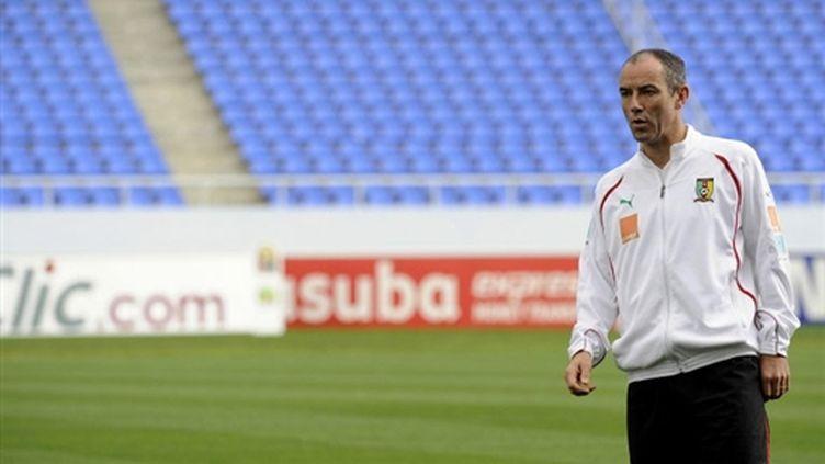 Paul Le Guen, entraîneur du Cameroun