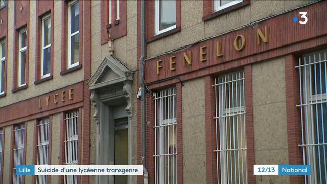 Lille : vive émotion après le suicide d'une lycéenne transgenre