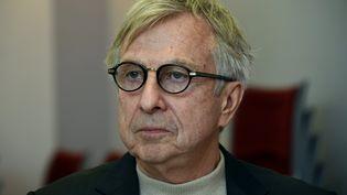Jean-Pierre Masseret, candidat PS dans la région Alsace-Champagne-Ardenne-Lorraine, àNancy (Meurthe-et-Moselle), le 6 décembre 2015. (MAXPPP)
