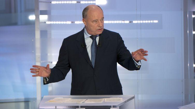 """(Jean-Michel Baylet, président du Parti Radical de Gauche et propriétaire de """"La Dépêche du Midi"""" © REUTERS/Fred Dufour/Pool)"""