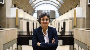 La présidente du musée d'Orsay Laurence des Cars, le 3 décembre 2020 (OLIVIER CORSAN / MAXPPP)
