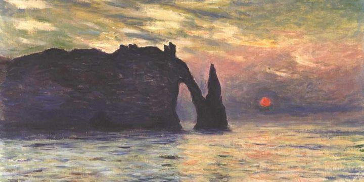 La Manneporte de Claude Monet  (DR)