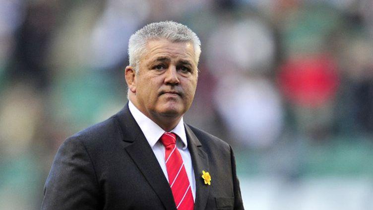 C'est le néo-zélandais Warren Gatland qui entraîne le XV du Poireau, l'équipe du Pays de Galles (GLYN KIRK / AFP)