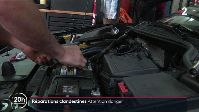 Automobile : les dangers des réparations clandestines