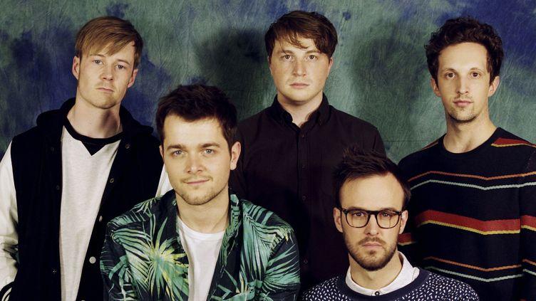 We Are Match avec de gauche à droite : Jim, Paco, Simon, Gwenael et Aurélien.  (Vladimir Besson)