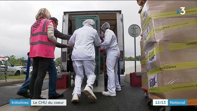 Initiative : le CHU de Montpellier offre ses surplus alimentaires aux Restos du cœur