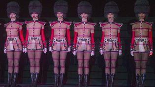 Les danseuses du cabaret réclament une augmentation de salaire. (ILIYA PITALEV / RIA NOVOSTI)