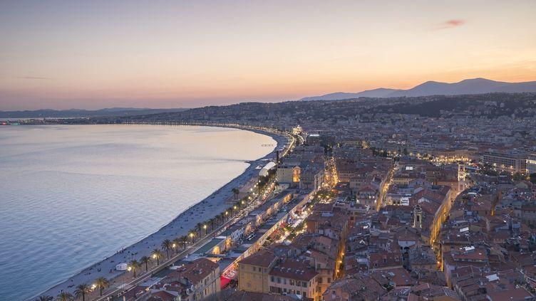 La Promenade des Anglais à Nice (Alpes-Maritimes), en avril 2018. (CAVALIER MICHEL / HEMIS.FR / AFP)
