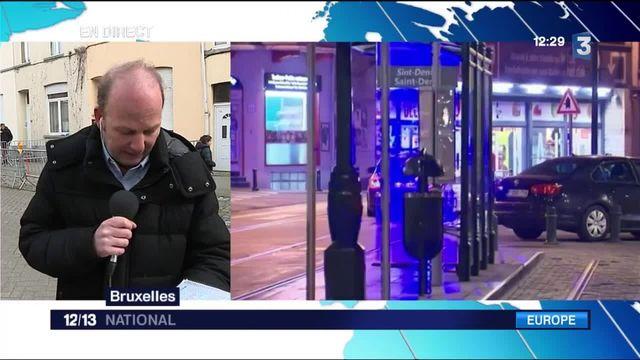 Fusillade à Bruxelles : deux hommes toujours en fuite