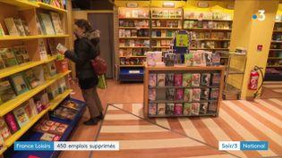 France Loisirs va supprimer 450 postes et fermer 36 boutiques. (FRANCE 3)