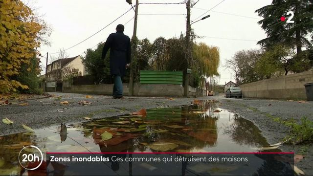 Zones inondables : ces communes qui détruisent des maisons