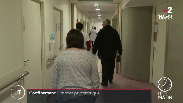 Confinement: un impact psychiatrique important