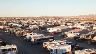 Workampers en Arizona (États-Unis). (FRANCE 2)