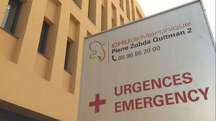 L'hôpital Pierre Zobda-Quitman du CHU de Martinique, à Fort-de-France, est dans une situation critique, le 29 juillet 2021. (MARTINIQUE LA 1ERE)