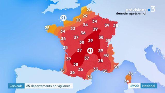 Canicule : les records de chaleur de 2003 en passe d'être battus