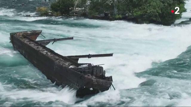 Chutes du Niagara : le bateau fantôme a bougé